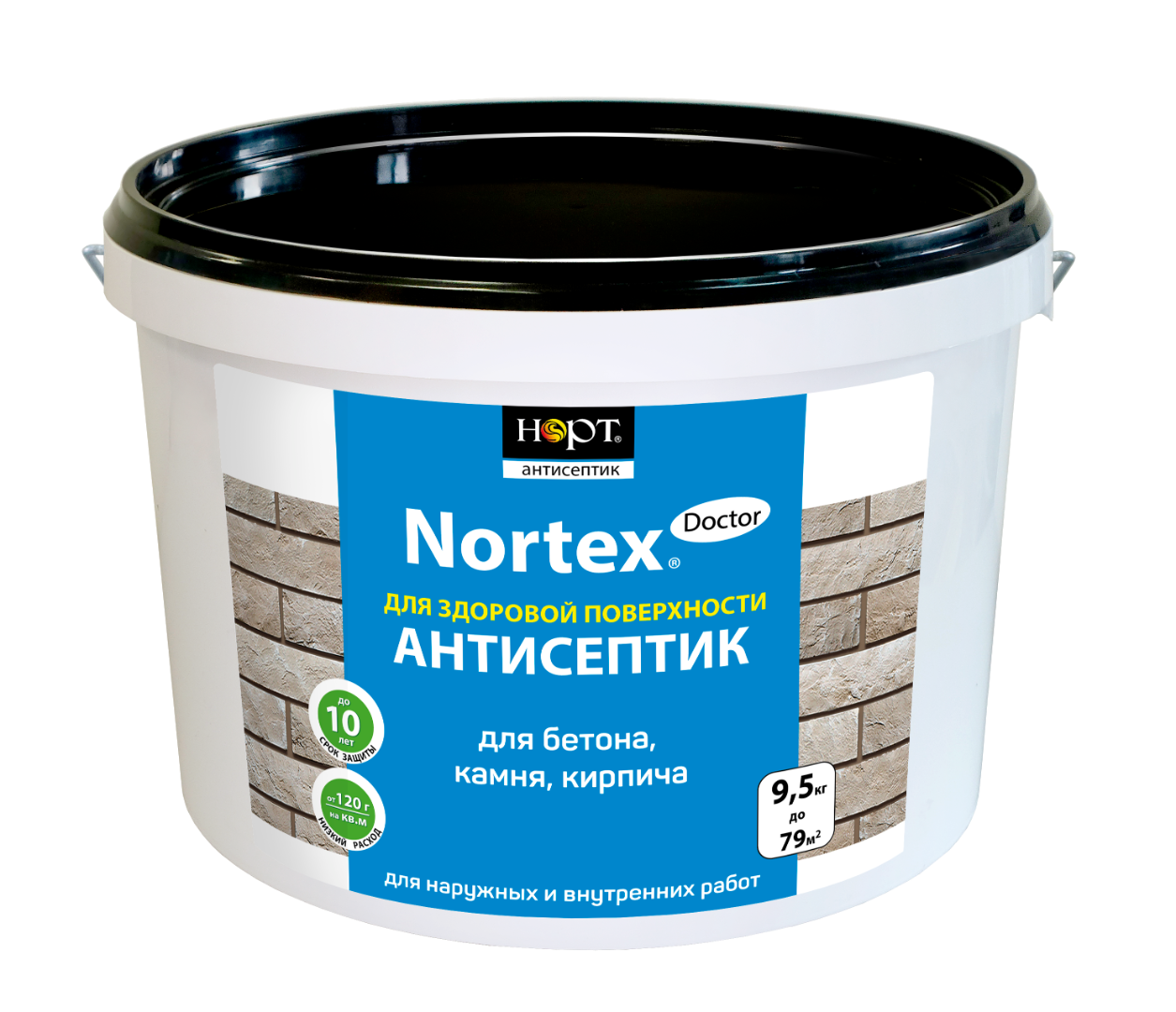 Антисептик Nortex-Doctor для бетона